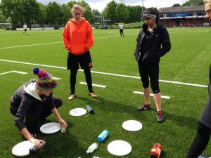 My first year as a trainer and captain of the FE women [Credit Caroline Jaffe]
