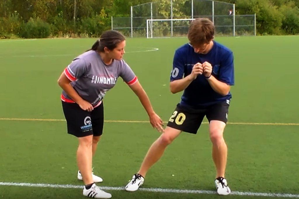 Trois exercices d'agilité pour l'Ultimate