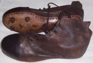 Rugby Boots (turn of the century - rugby relics)