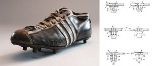Max Morlock's World Cup Shoe 1954 and 1953 patent (dpma)