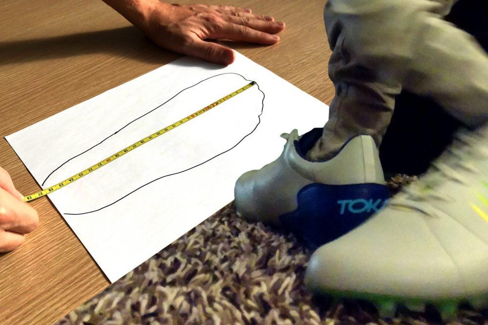 Comment mesurer tes pieds